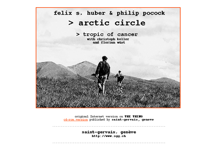 Artic circle and Tropic of cancer / Felix S. Hubert et Philip Pocock