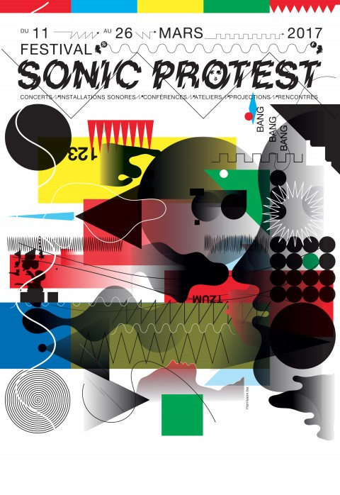 Affiche Festival Sonic Protest 2017