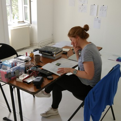 Résidence de Joanna Hopkins (Irlande) - Projet Looking Away dans le cadre d'EUCIDA