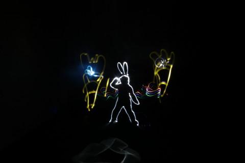 atelier de Lightpainting