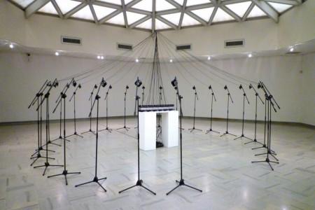 Cécile Babiole oeuvre bzzz le son de l'électricité