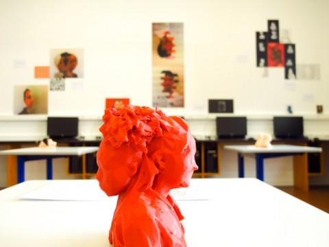 figurine atelier glitch 3D
