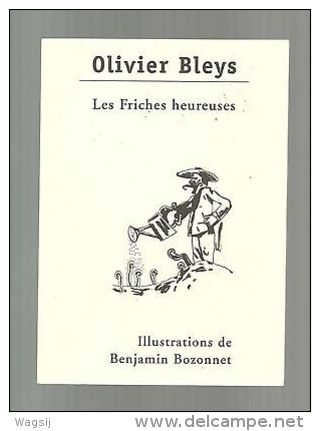 Olivier Bleys - les friches heureuses