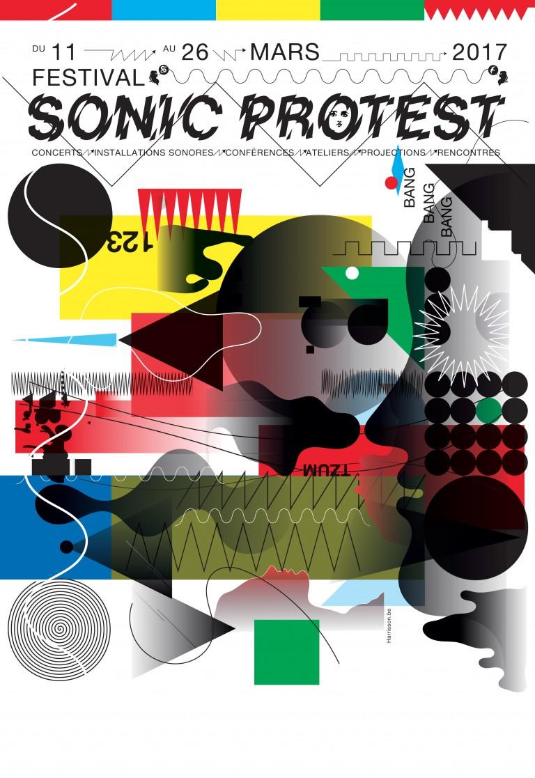 Affiche Festival Sonic Protest 2017