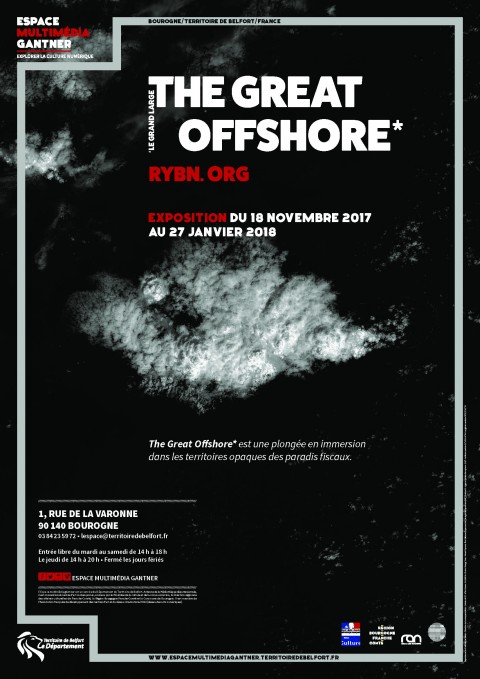 Affiche Exposition The Great Offshore RYBN.ORG