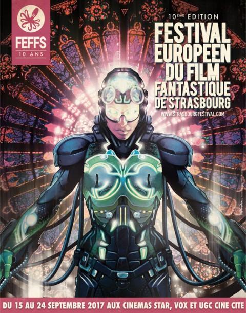 Affiche Festival Film Fantastique Strasbourg 2017